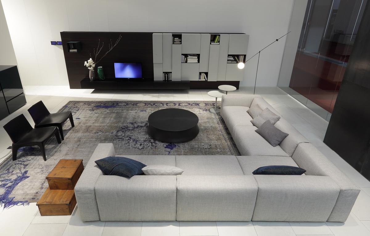 Диваны в дизайне интерьера: Секционные диваны