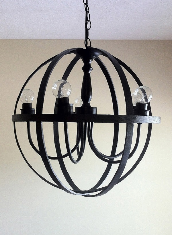 Бесподобный подвесной светильник в интерьере
