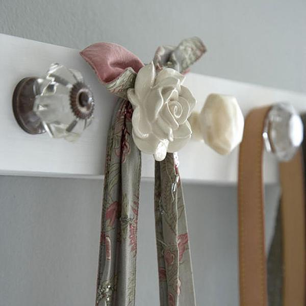 вешалка для шарфов своими руками мастер
