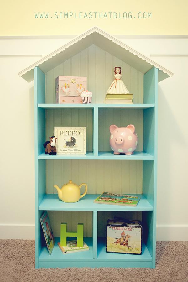 Уживительный кукольный домик для детей