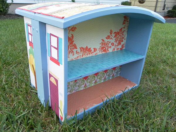 Изысканный кукольный домик для детей