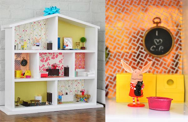 Восхитительный кукольный домик для детей
