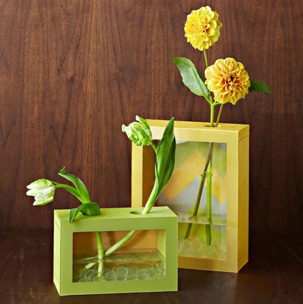 Прекрасная и модная ваза для цветов