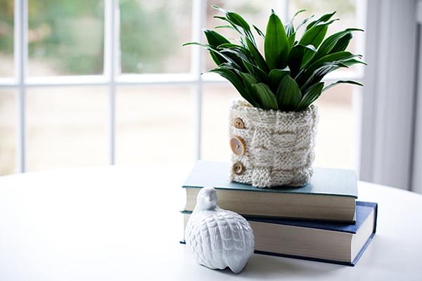 Необычная и модная ваза для цветов