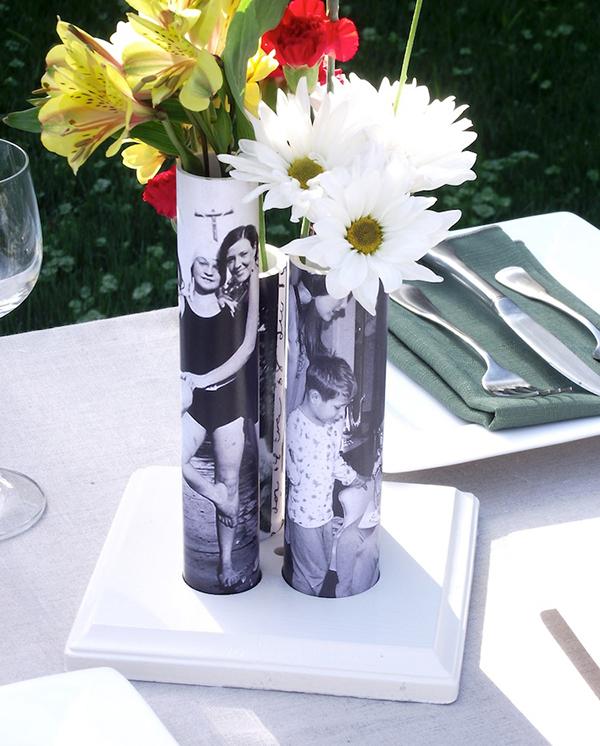 Шикарная и модная ваза для цветов