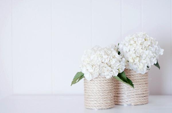 Роскошная и модная ваза для цветов