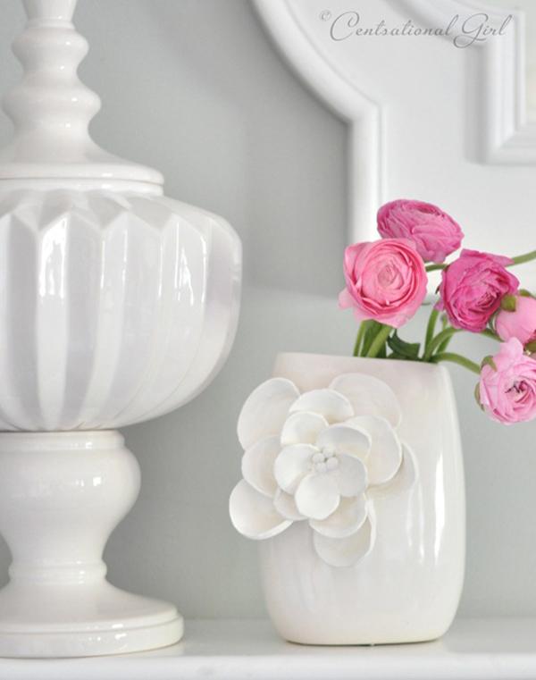 Изысканная и модная ваза для цветов