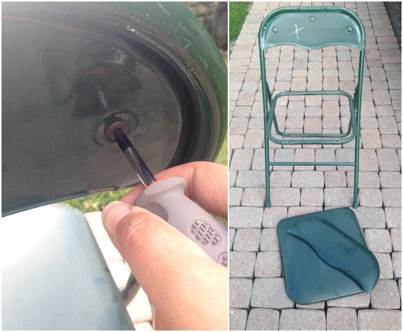 Процесс разбора стула