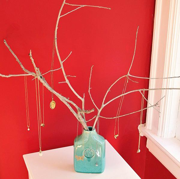 Дерево органайзер для украшений своими руками