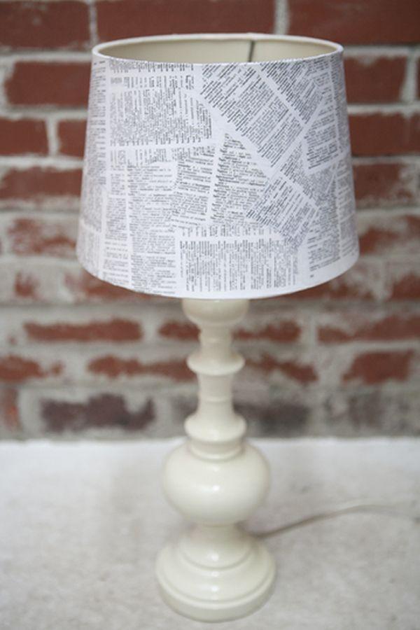 Абажуры для настольных ламп своими руками