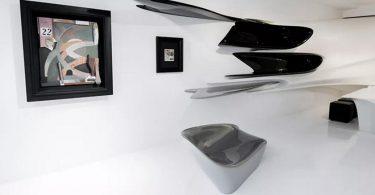 Дизайн выставочного зала Захи Хадид