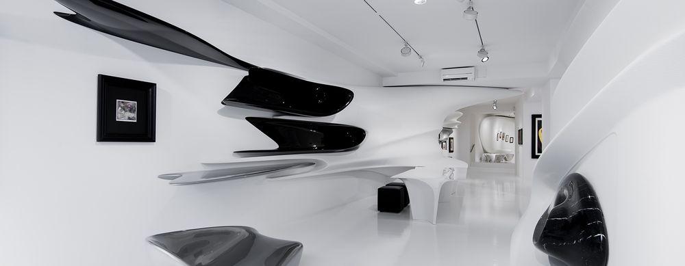 Дизайн выставочного зала на Венецианском биеннале