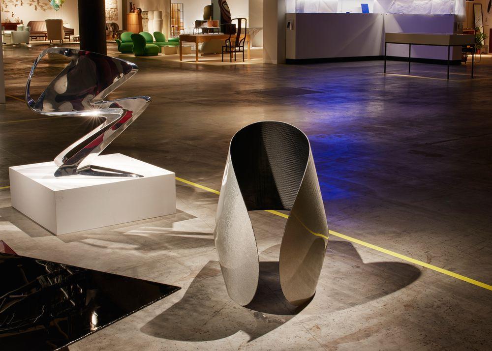 Дизайн выставочного зала: похожая модель