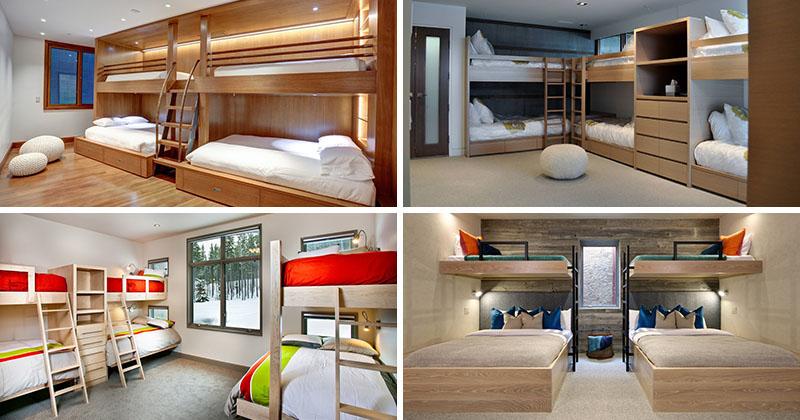 Дизайн интерьера большой спальни от разных студий