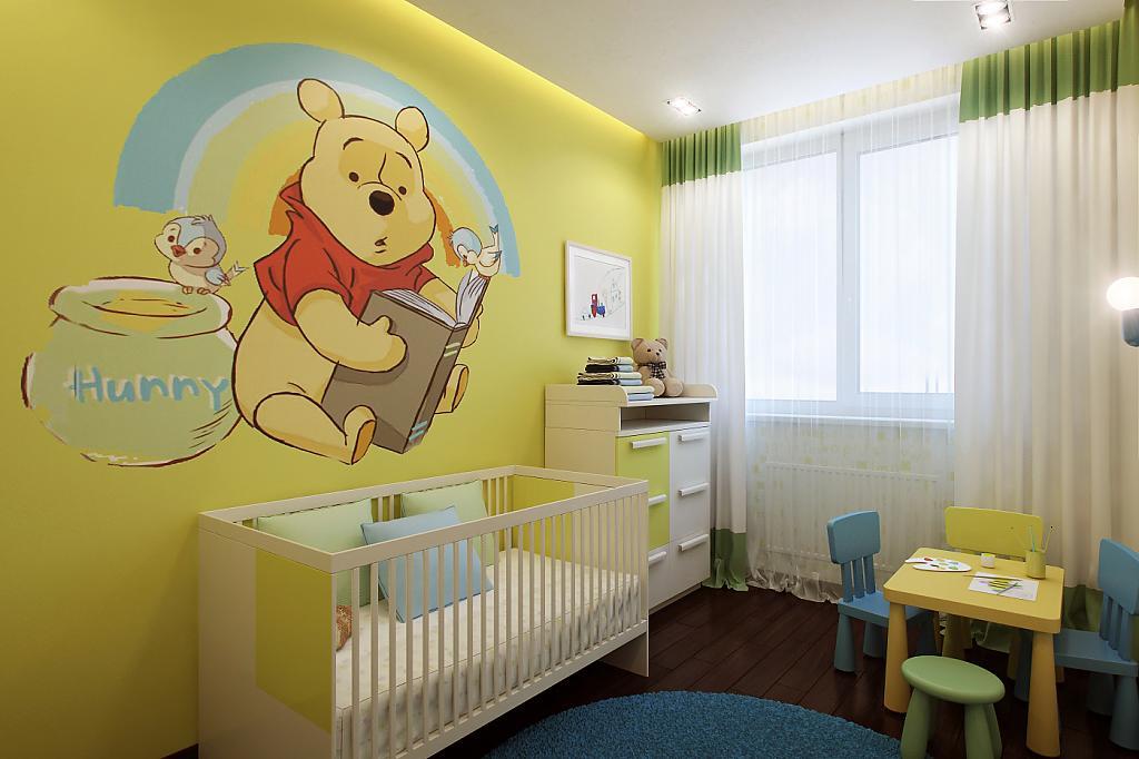 окно в детской комнате дизайн фото