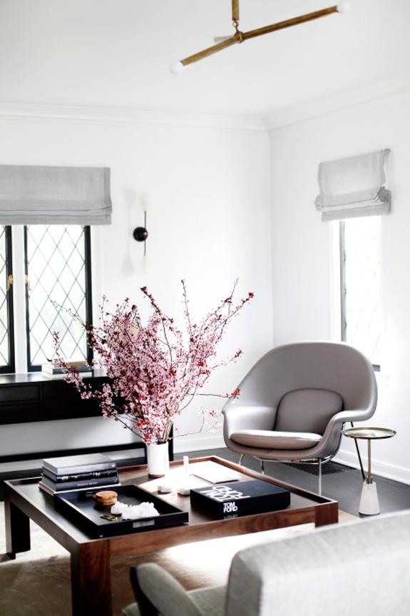 Дизайн интерьера в стиле минимализм в гостиной