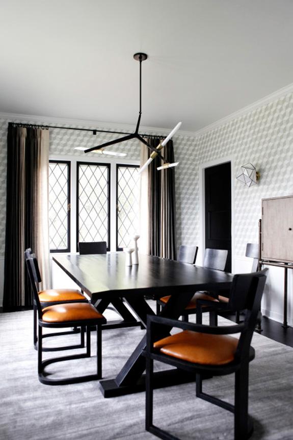 Дизайн интерьера в стиле минимализм в столовой