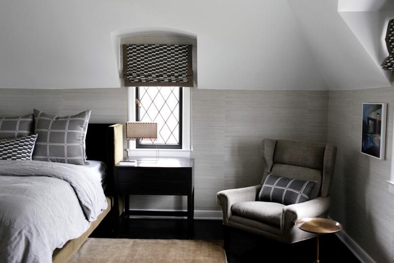 Дизайн интерьера в стиле минимализм в спальне