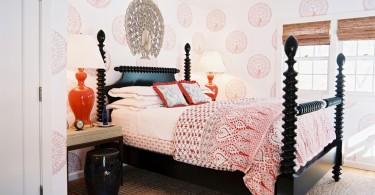 Дизайн комнаты в роскошном стиле индийской аристократии
