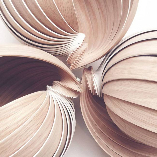 Дизайн лампы из дерева от Kovac Family - Фото 2