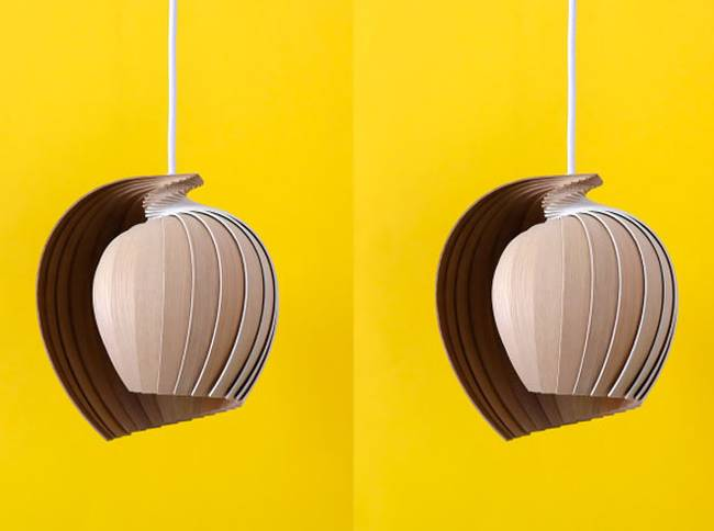 Дизайн лампы из дерева от Kovac Family - Фото 4