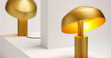 Уникальный дизайн настольной лампы