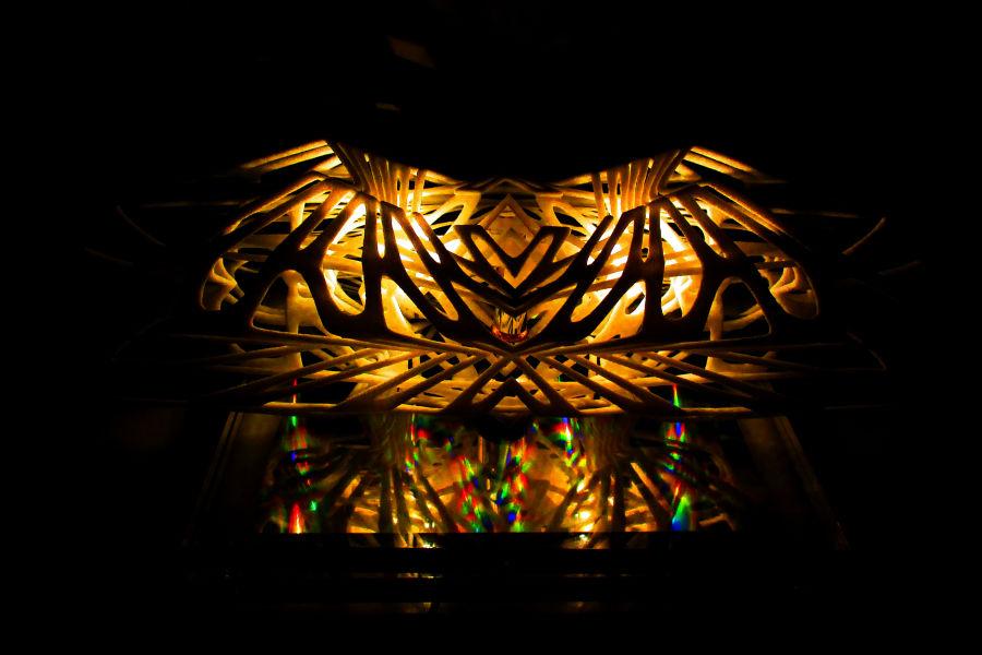 Дизайн рассеивателя света из керамики