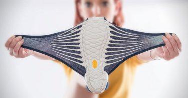 Оригинальный дизайн спортивных кроссовок от японского дизайнера