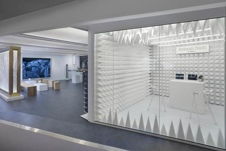 Дизайн выставочного павильона для часовой компании на международной ярмарке в Гонконге