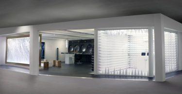 Стильный дизайн выставочного павильона на международной ярмарке в Гонконге