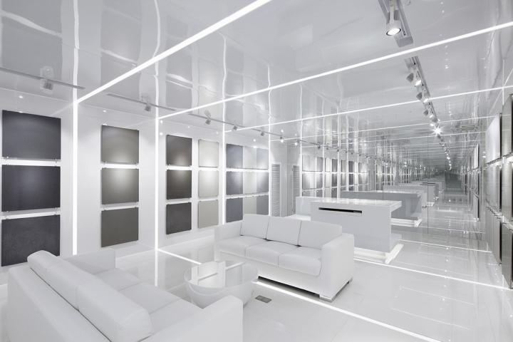Дизайн выставочного центра из стекла
