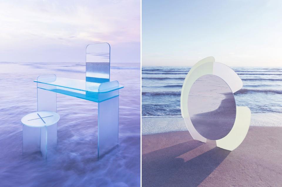 Кристины Селестино: два дизайнерских варианта зеркала