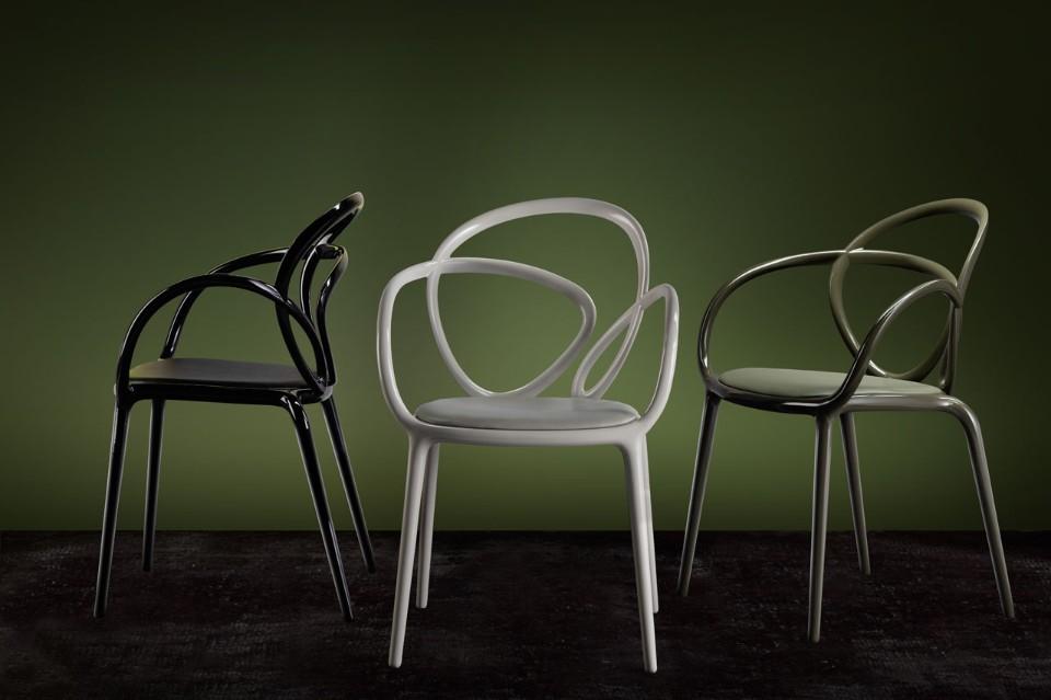 Стефано Джованнони: три стула с оригинальной спинкой