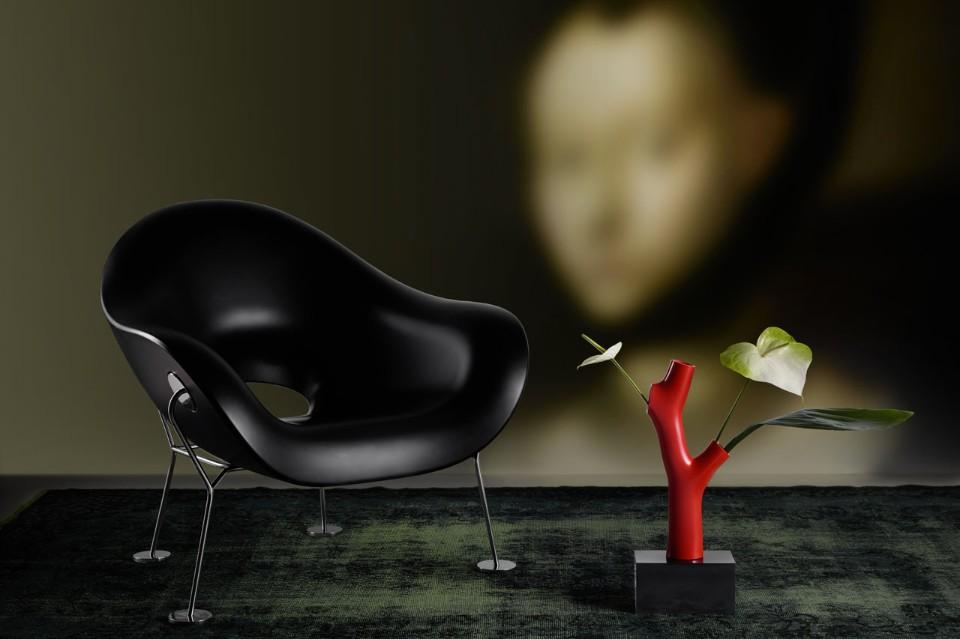 Стефано Джованнони: миниатюрный стул и модель дерева