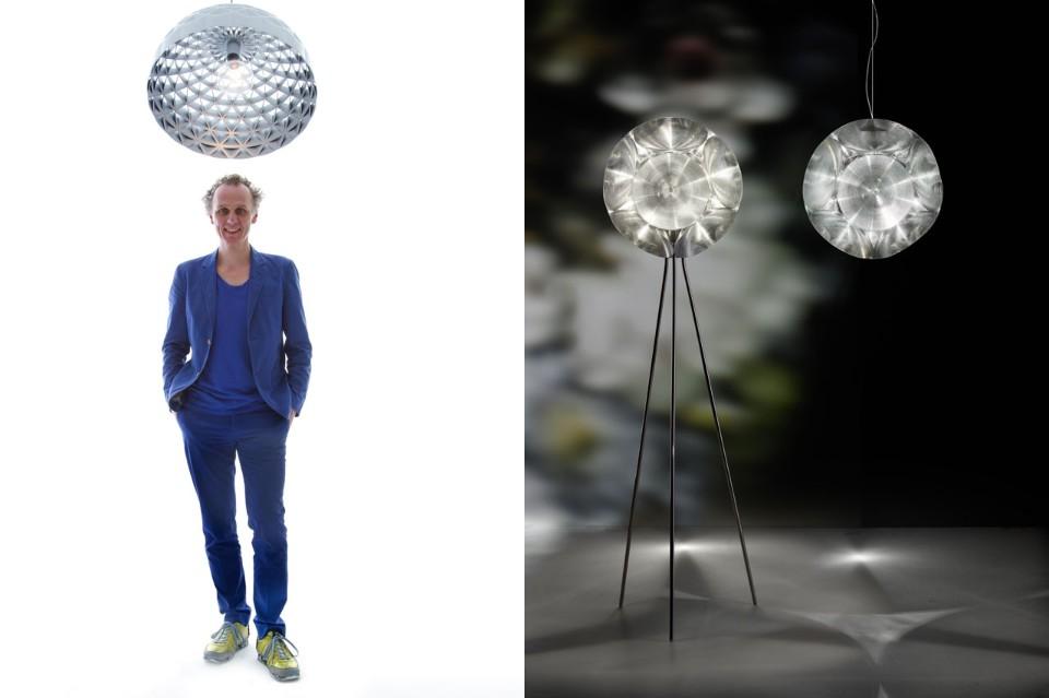 Стефано Джованнони: уникальный дизайн лампы