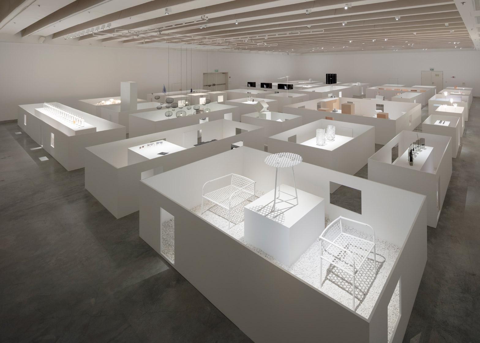 Музей работ Оки Сато - музейная экспозиция