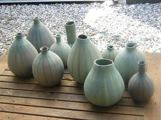 Оригинальные работы дизайнера по керамике Moye Thompson - Фото 2