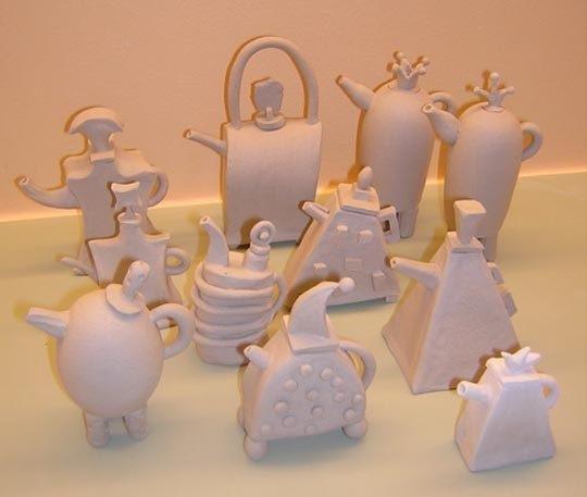 Оригинальные работы дизайнера по керамике Moye Thompson - Фото 3