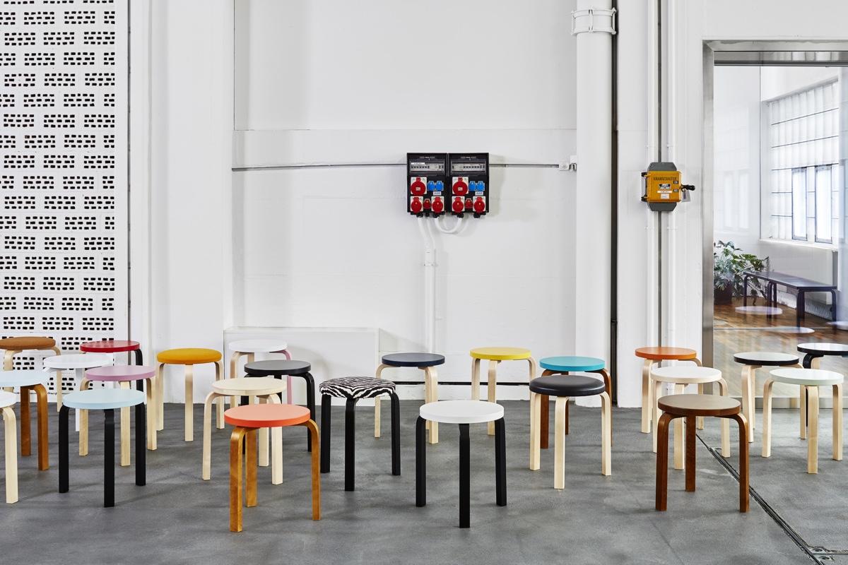 Дизайнер с мировым именем Алвар Аалто - множество стульев
