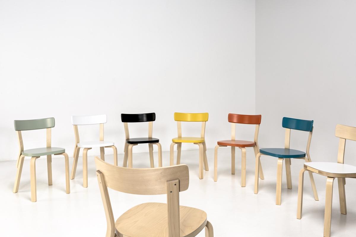 Дизайнер с мировым именем Алвар Аалто - стулья 69