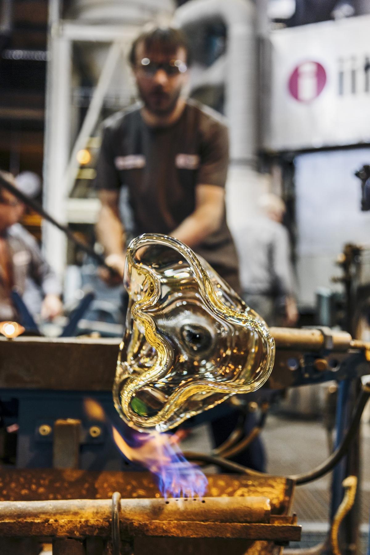 Дизайнер с мировым именем Алвар Аалто - производство вазы