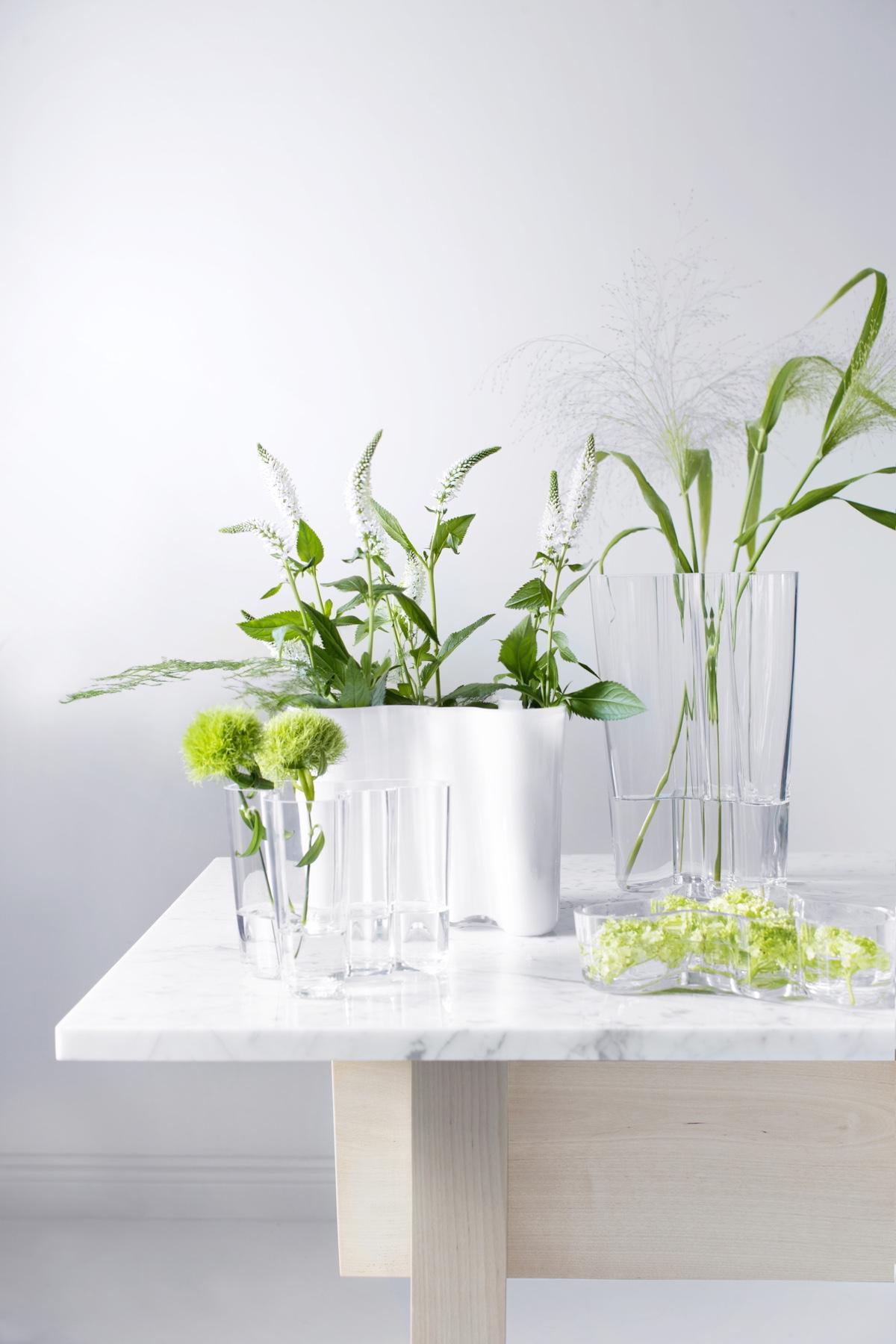 Дизайнер с мировым именем Алвар Аалто - коллекция ваз
