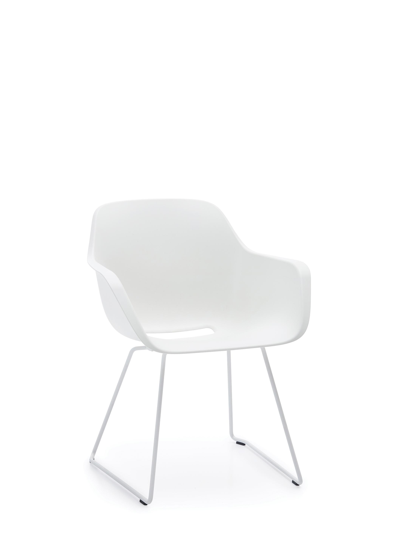 Дизайнерская мебель для офиса - белый стул