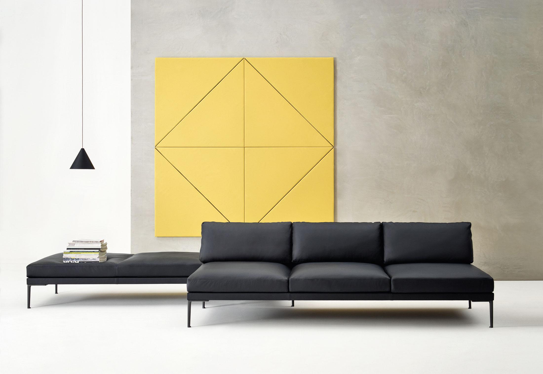Дизайнерская мебель для офиса - диван с модульной системой