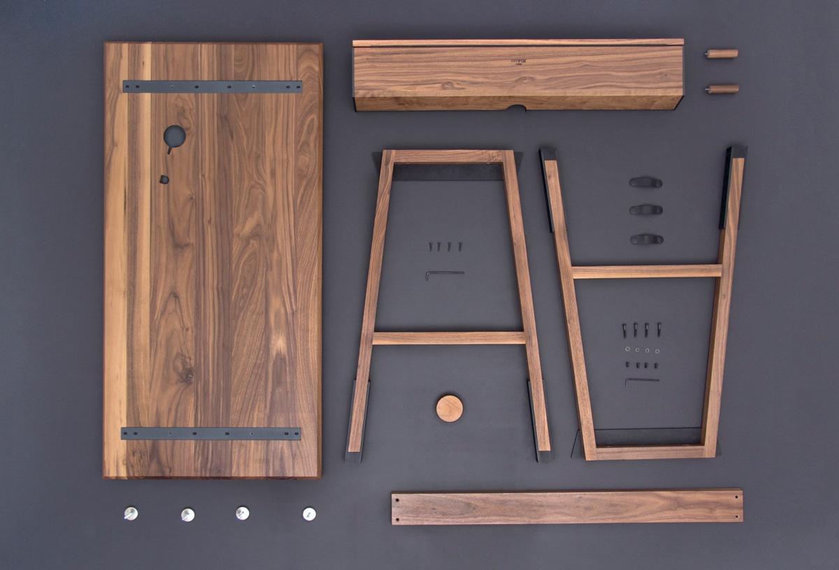 Сборная мебель для гостиной - стол 01. Фото 1