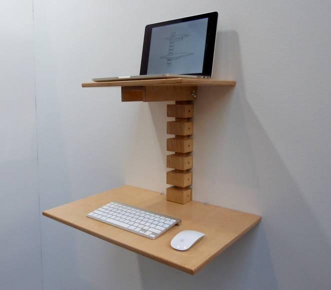 Дизайнерский деревянный стол от Мэтта Герети