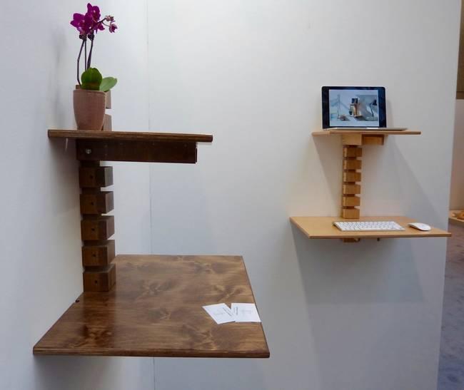 Дизайнерские деревянные столы от Мэтта Герети