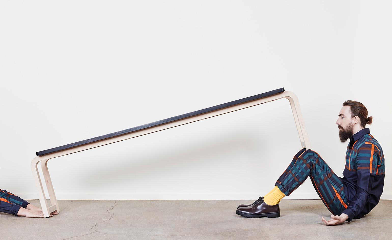 Работа дизайнерского дуэта: стол скамья - Фото 2