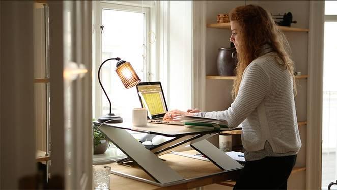 Дизайнерский рабочий стол от OPLØFT