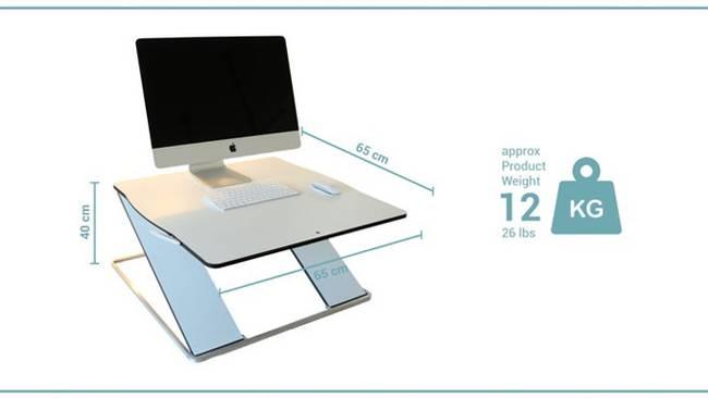 Размеры дизайнерского рабочего стола